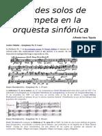 Solos Trompeta