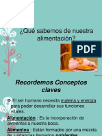La Alimentacion 8 Basico