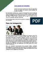 Fases Del Proceso Penal en Colombia