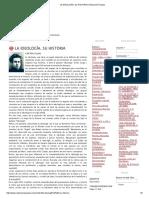 La Ideología. Su Historia _ Redacción Popular