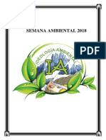 Semana Ambiental Propuesta