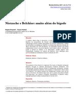 Regina Rossett; Paula Cristina - Nietzsche e Belchior Muito Além Do Bigode