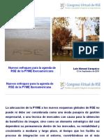 RSE - Conformación de la RSE para la PYME Latinoamericana