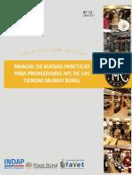 Manual Buenas Practicas Para Proveedores Tmr 2017