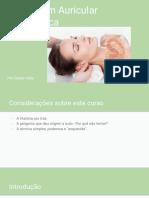 Massagem Auricular Terapêutica