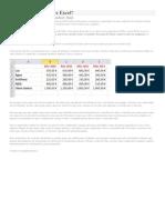 Qué Es y Para Qué Sirve Excel