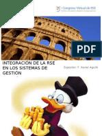 RSE - Integración de la RSE en los sistemas de gestión