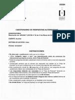 TEst Cuestionario Auxiliar Administrativo