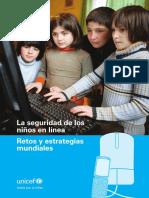 Informe UNICEF Riesgos de Los Menores en Internet