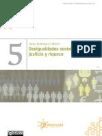 Desigualdades Sociales, Justicia y Riqueza, De Jorge Rodríguez Menés