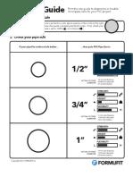 PVC Size Guide