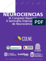 Memorias Ix Congreso Nacional de Neurociencias Final