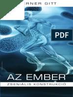 Werner Gitt - Az Ember Zseniális Konstrukció