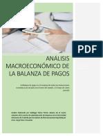Anlisis Macroeconomico Balanza de Pagos