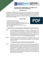 Reglamento Pilar 2018