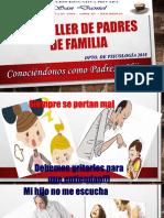 2do Taller de Padres de Familia