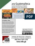 LiteraturaGuatemalteca 2s BACH 2017