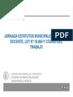 37 Presentación Estatuto Docente Ley Nº 19.464 y Codigo Del Trabajo.pptx