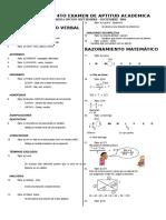 4TO Examen Ciclo Set - Dic Cursos Generales (Solución)