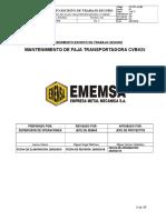 E-ppry-An 003 Mantenimiento de Faja Transportadora Cvb027 (2)
