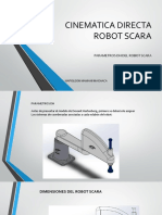 Cinematica Directa Robotica
