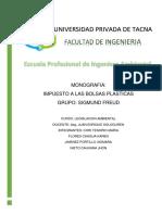 Ley Impuesto a Las Bolsas Plasticas - Monografia (1)