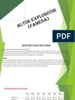 CATALOGO Caracteristicas Tecnicas Explosivos FAMESA