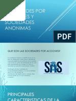Sociedades Por Acciones y Sociedades Anonimas