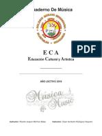 Apuntes de Música Colegio Moravo Secundaria