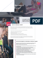 How to Become a Personal Trainer Guide