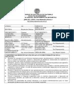 USAC MATEMÁTICA 2018 PRIMER SEMESTRE INGENIERIA