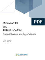 Microsoft BI vs. TIBCO Spotfire Report From IT Central Station 2018-05-04