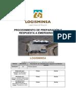 Procedimiento de Preparación y Respuesta a Emergenciass