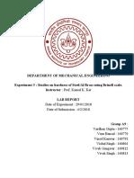 ME222 Lab Report Experiment 5 - A9