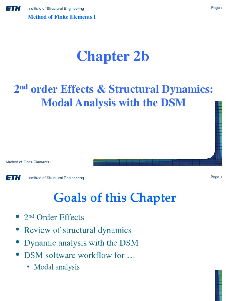Lecture_2b pdf | Eigenvalues And Eigenvectors | Finite