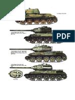 T34 VARIE VERSIONI