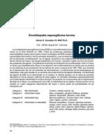 encefalopatia expongiforme bovina