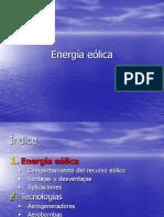 Powerpoint sobre la energía Eólica