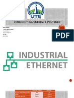 Ethernet Industrial y PROFINET
