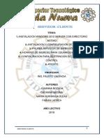 Servidor Cliente Proyecto Bozada Medina Larrea Oleas