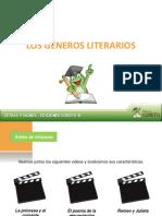 Los Generos Literarios - COMUNICACIÓN 2015 (2)