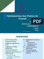 Support Formation Optimisation Des Postes de Travail