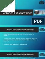 METODOS RADIÓMETRICOS