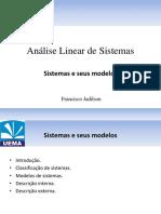 Sistemas e Modelos