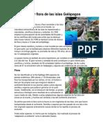 Fauna y Flora de Las Islas Galápagos