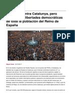 El 155 y Las Libertades Democraticas 2017-10-22