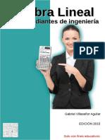 Álgebra Lineal Para Estudiantes de Ingeniería - Villaseñor Aguilar