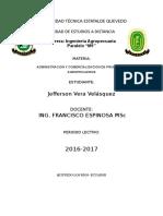 PRODUCTOS AGROPECURIOS UNIDAD3