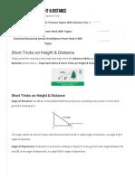 Short Tricks on Height & Distance _ _ GovernmentAdda