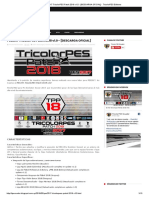 Pes2017 Tricolorpes Patch 2018 v1.0 - [Descarga Oficial] - Tricolorpes Editores